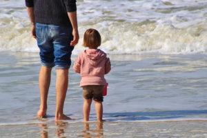 genitore single con i bambini