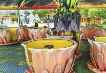 Attrazioni Rainbow Magicland, Tazze Pazze