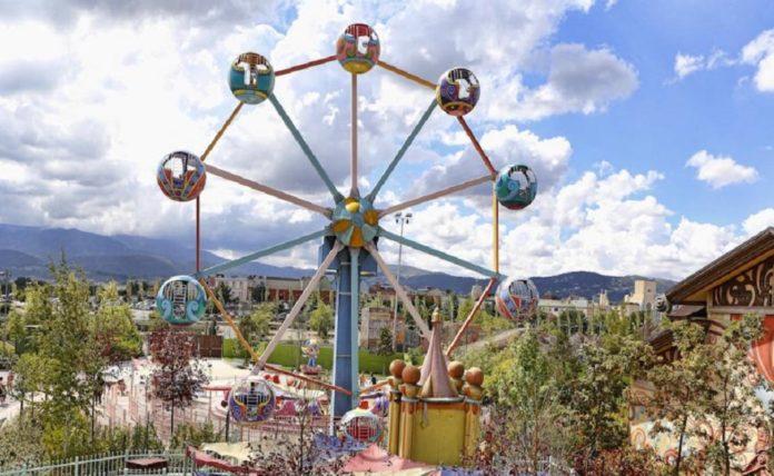 attrazioni Rainbow MagicLand La ruota magica