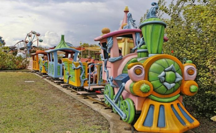 attrazioni Rainbow MagicLand Treno Magico