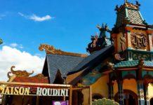 attrazioni rainbow magicland, maison houdini