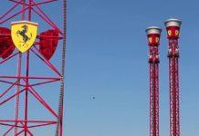 Attrazioni Ferrari Land Thrill Towers Torre di caduta libera