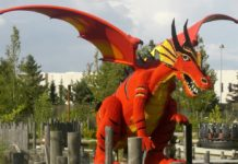 The Dragon legoland billund