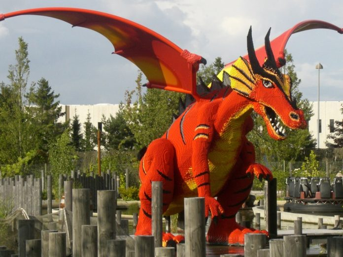 The Dragon legoland billund