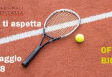 biglietti internazionali TENNIS ROMA 2018