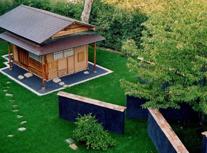 Certaldo E La Sala Per La Cerimonia Del Te Giapponese A Palazzo