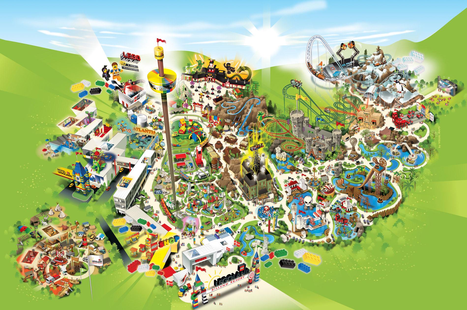 Legoland Billund 100tour