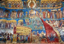 i monasteri dipinti voronet