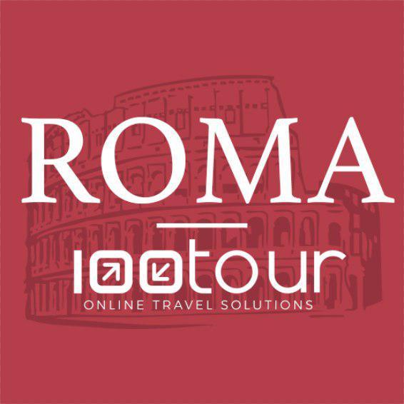 100tourApp Roma logo