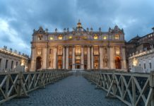 roma, la basilica san pietro