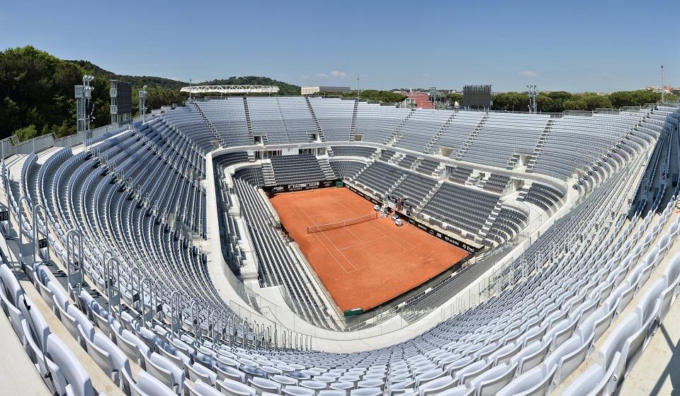 programma internazionali tennis bnl 2019 roma il campo centrale 100tour. Black Bedroom Furniture Sets. Home Design Ideas